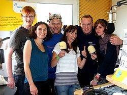Das Radio Klinikfunk Team zum IronMan