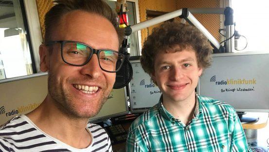 Sebastian Niklaus bei Radio Klinikfunk