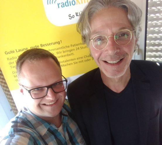 Klaus Reichert bei Radio Klinikfunk